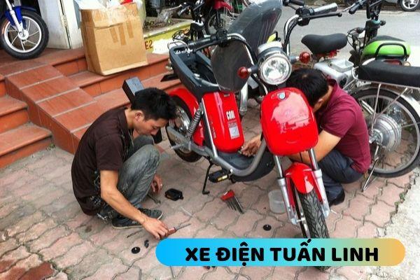 Sửa xe đạp điện tại Long Biên
