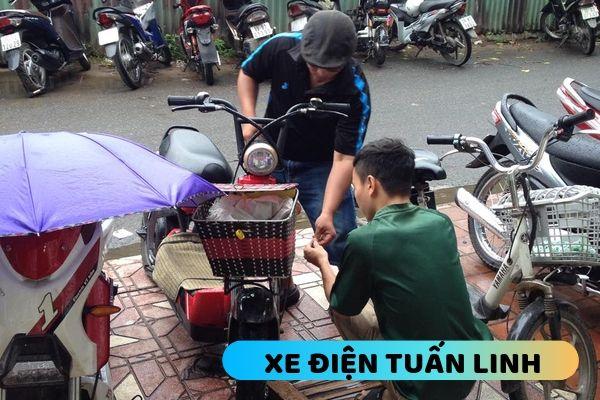 dịch vụ sửa xe đạp điện tại Đống Đa