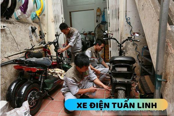 sửa xe đạp điện giá rẻ tại Đống Đa