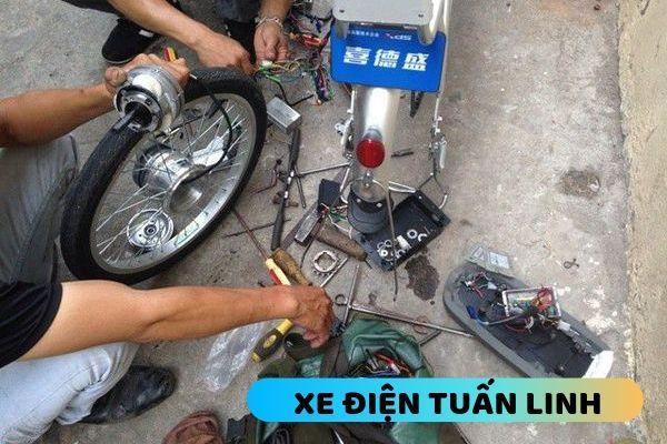 bảo dưỡng xe đạp điện tại nhà