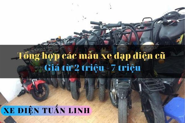 Xe đạp điện cũ, xe máy điện cũ giá rẻ ở Lai Châu
