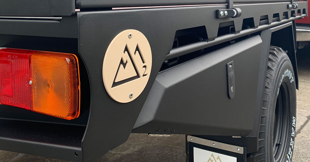 M2 Overland Ute Deck with ArmourCoat