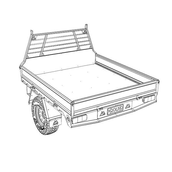 Double Cab Ute Tray