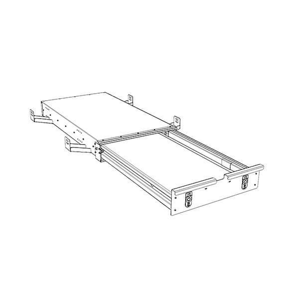Ute Tray Lockable Drawer System