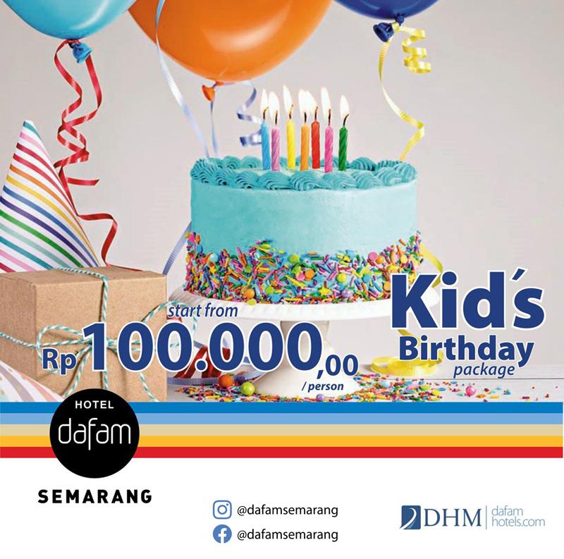 HDS Kids Birthday Package