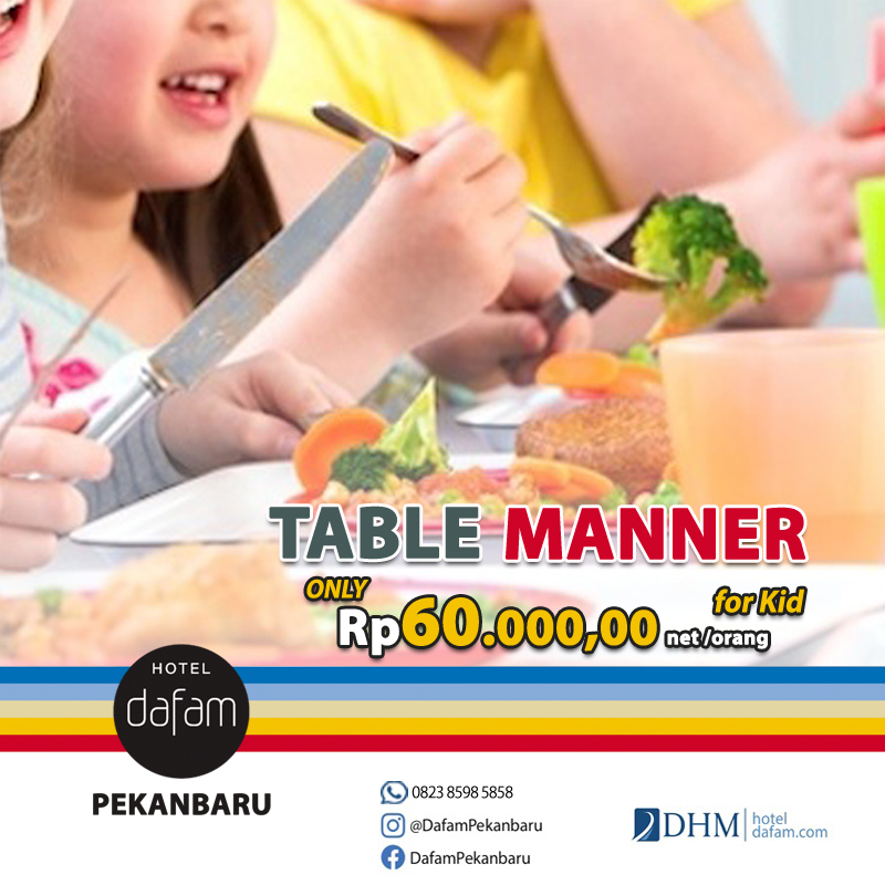 Table Manner for Kids