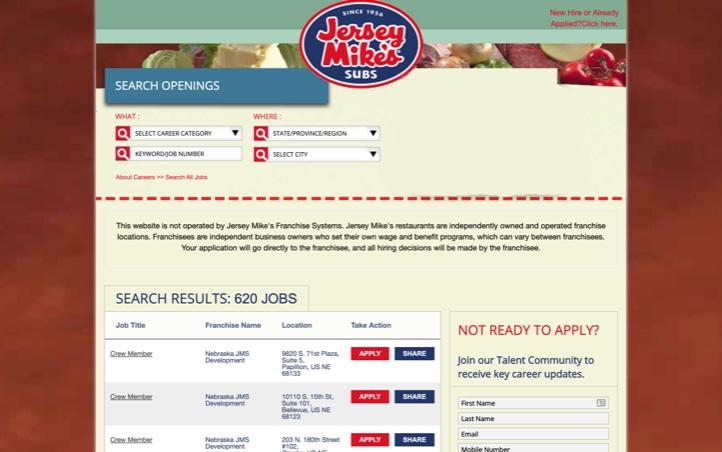 Image: Visit our application portal atTalent Reef