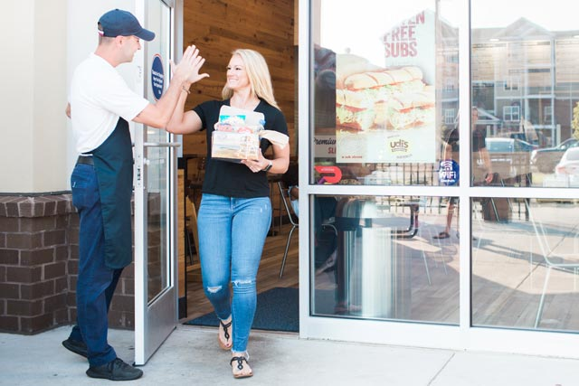 Image: Step 2 - Pick up your order in person. Cater order process with Atlantic Food Group