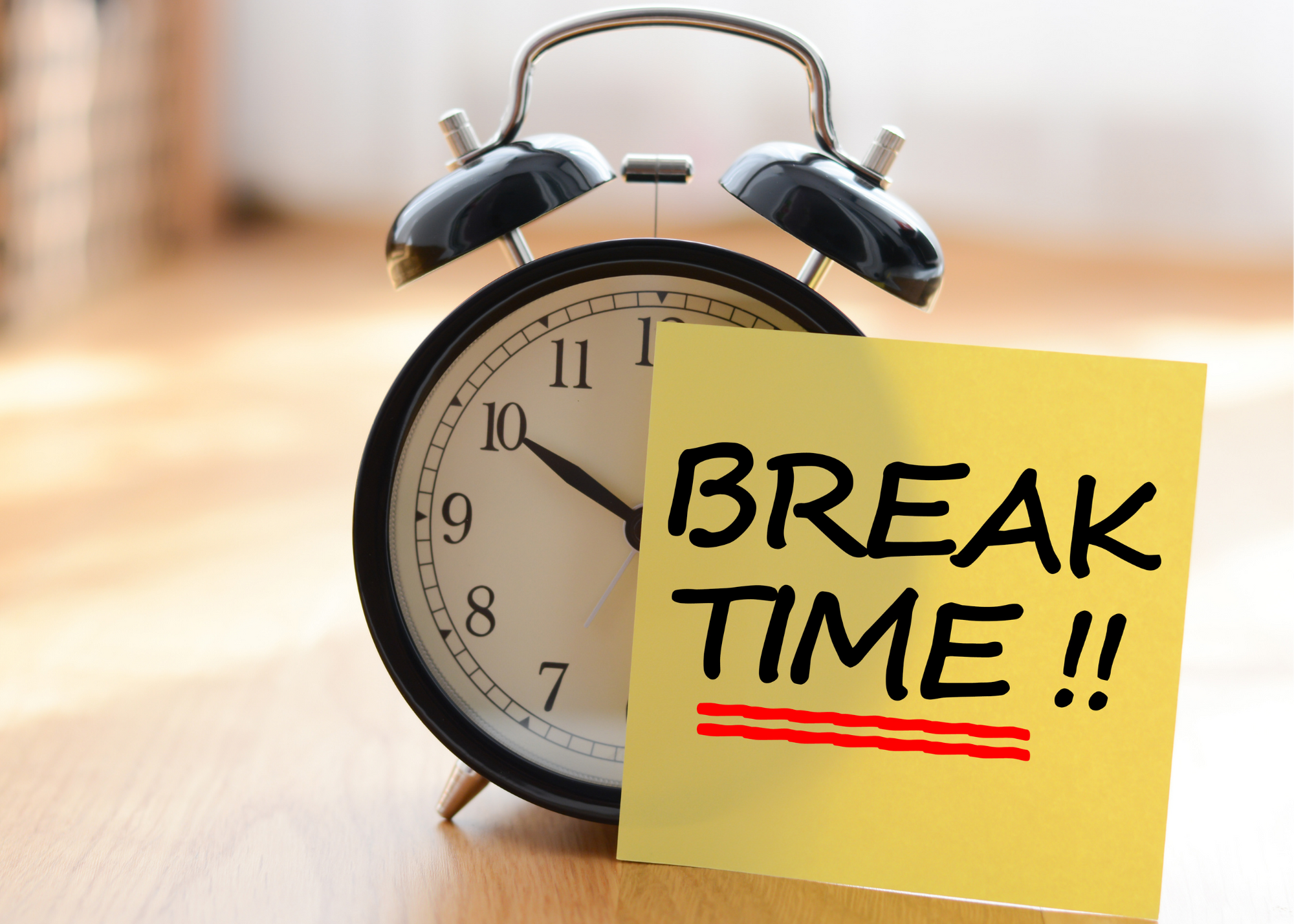 Ultradian Rhythm & the Importance of Taking Breaks