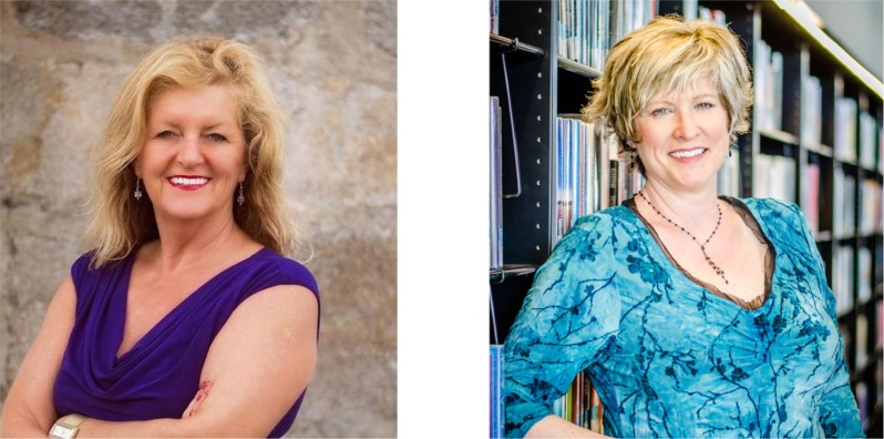 Dr. Wendy Nickerson and Jeannette Folan