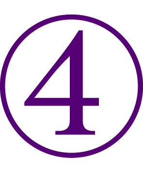 Number 4 clipart