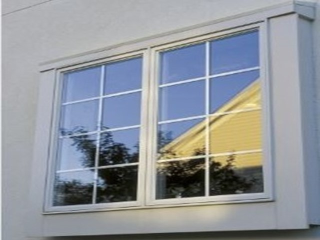 Double pane windows with Low E glass.