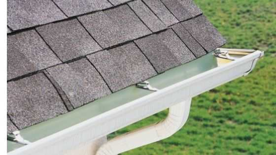 Seamless aluminum rain gutter's and downspout.