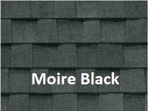 Certainteed Landmark Moire Black