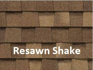 Certainteed Landmark Resawn Shake