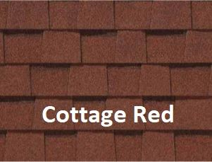 Certainteed Landmark Cottage Red