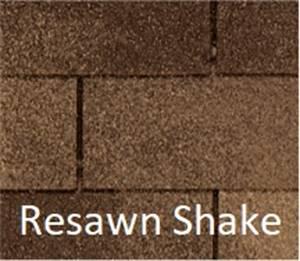 Certainteed XT 25 Resawn Shake.