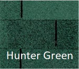 Certainteed XT 25 Hunter Green.