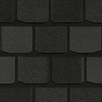 CertainTeed Highland Slate Black Granite