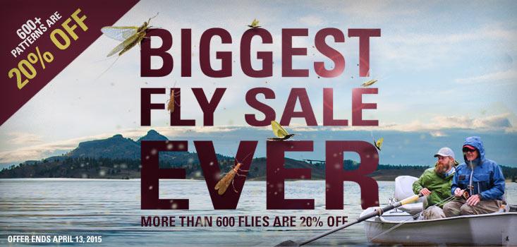 Orvis 2015 Fly Sale