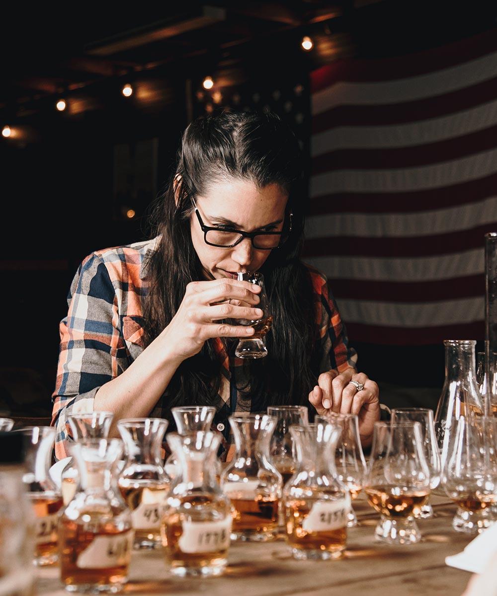 Michell Kooper Blending Whiskey