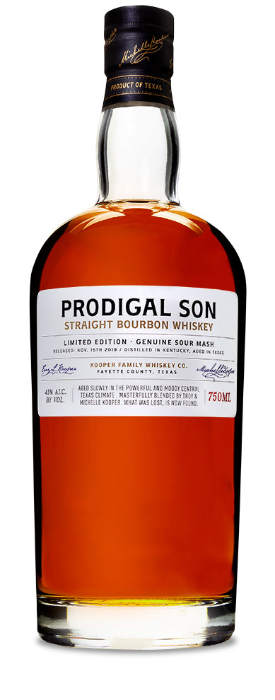 Prodigal Son Bourbon Whiskey