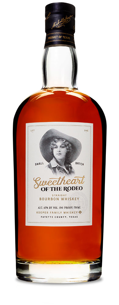 Sweetheart of the Rodeo Bourbon Whiskey