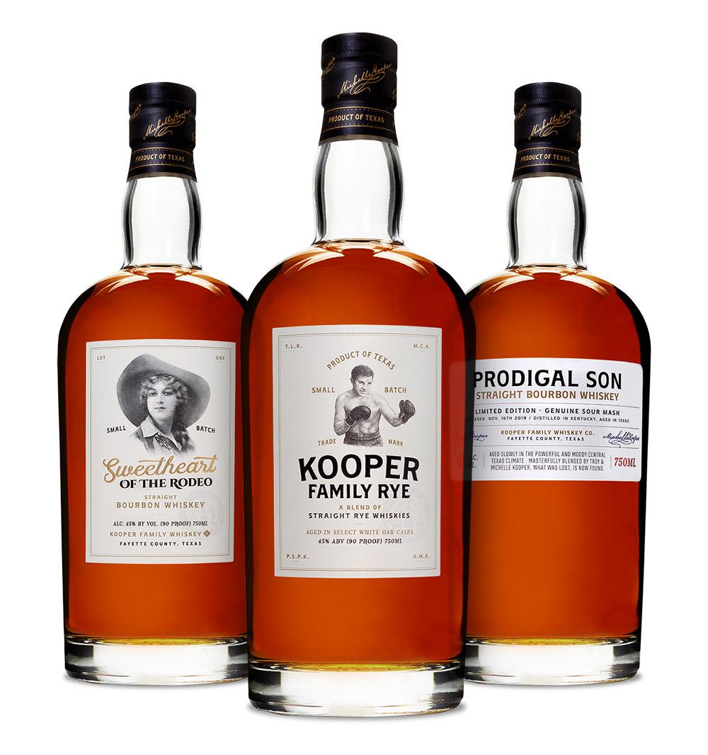 Kooper Family Whiskey - Best Whiskey in Texas