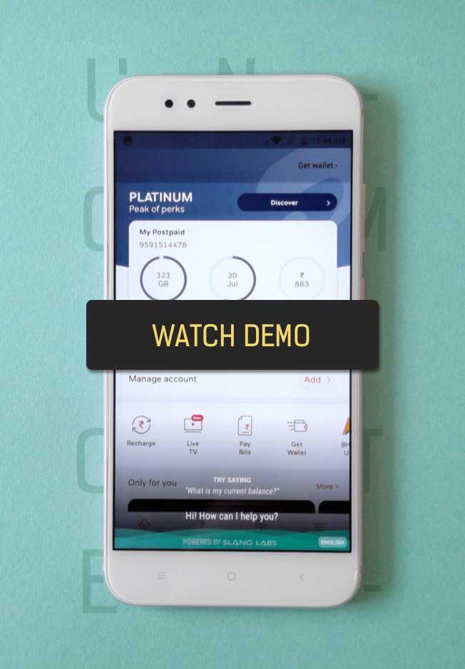 Slang Mobile Demo Image
