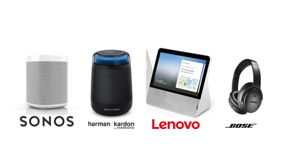 Second party smart devices. These devices have built in Voice Assistants