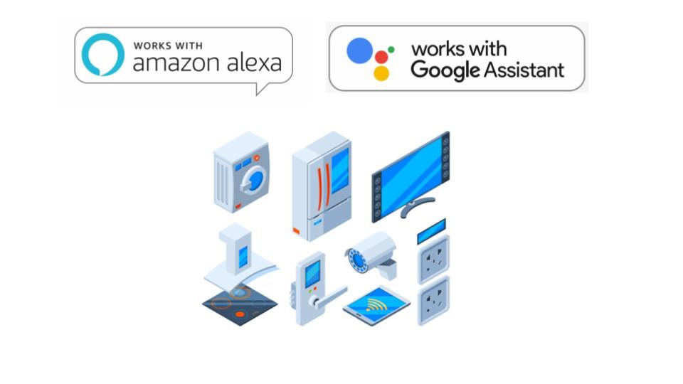 Devices which works with Alexa or Google assistant or other voice assistants are called third party smart devices.