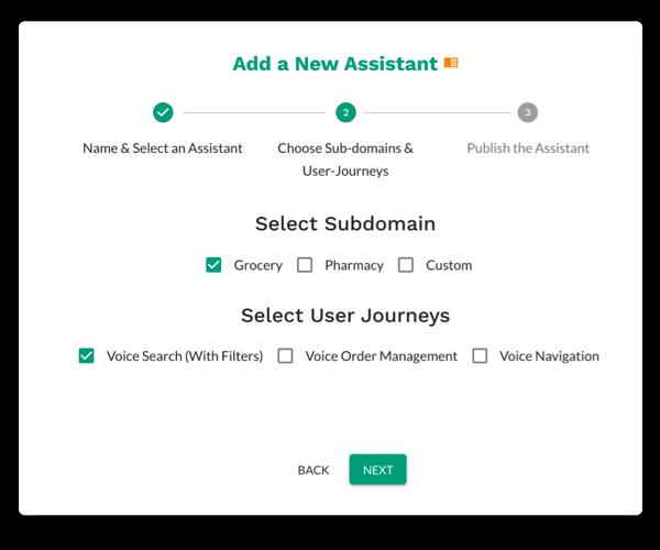 Select User Journeys