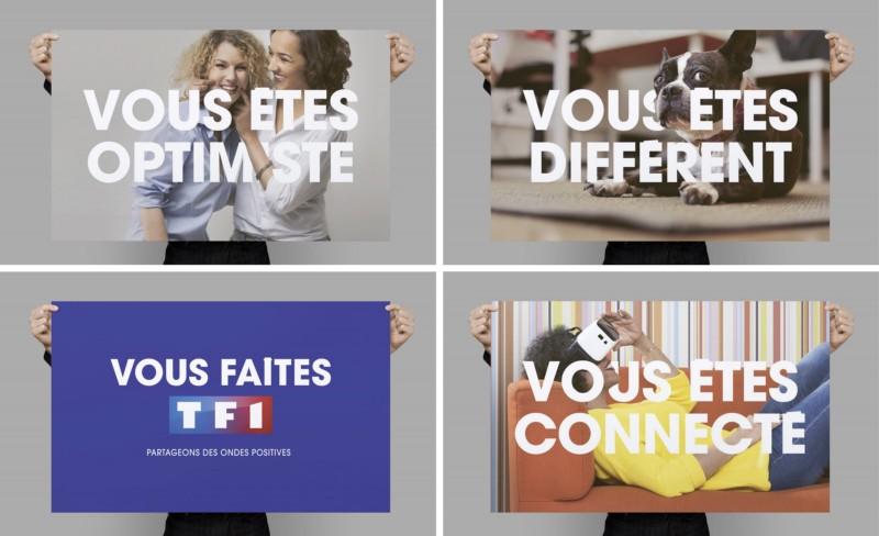 TF1 remercie tout ses employés à travers cette campagne de communication