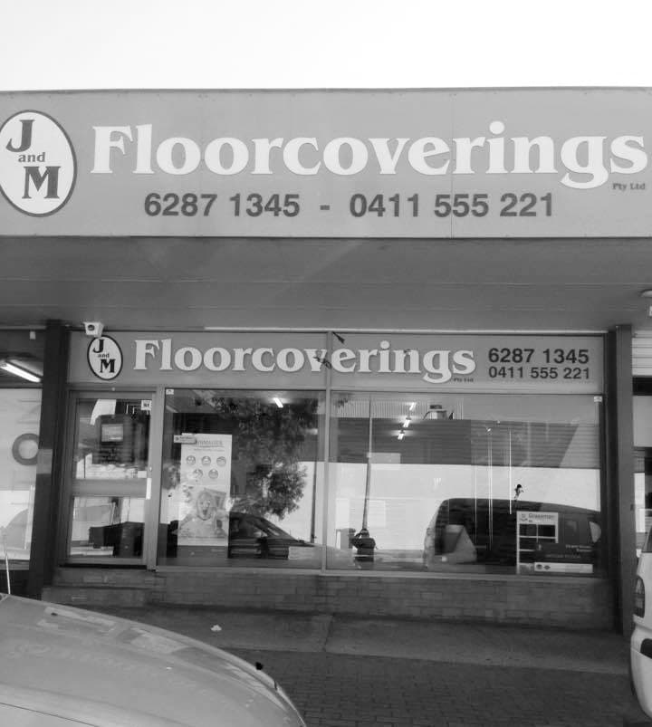 The old J&M Floorcoverings shopfront