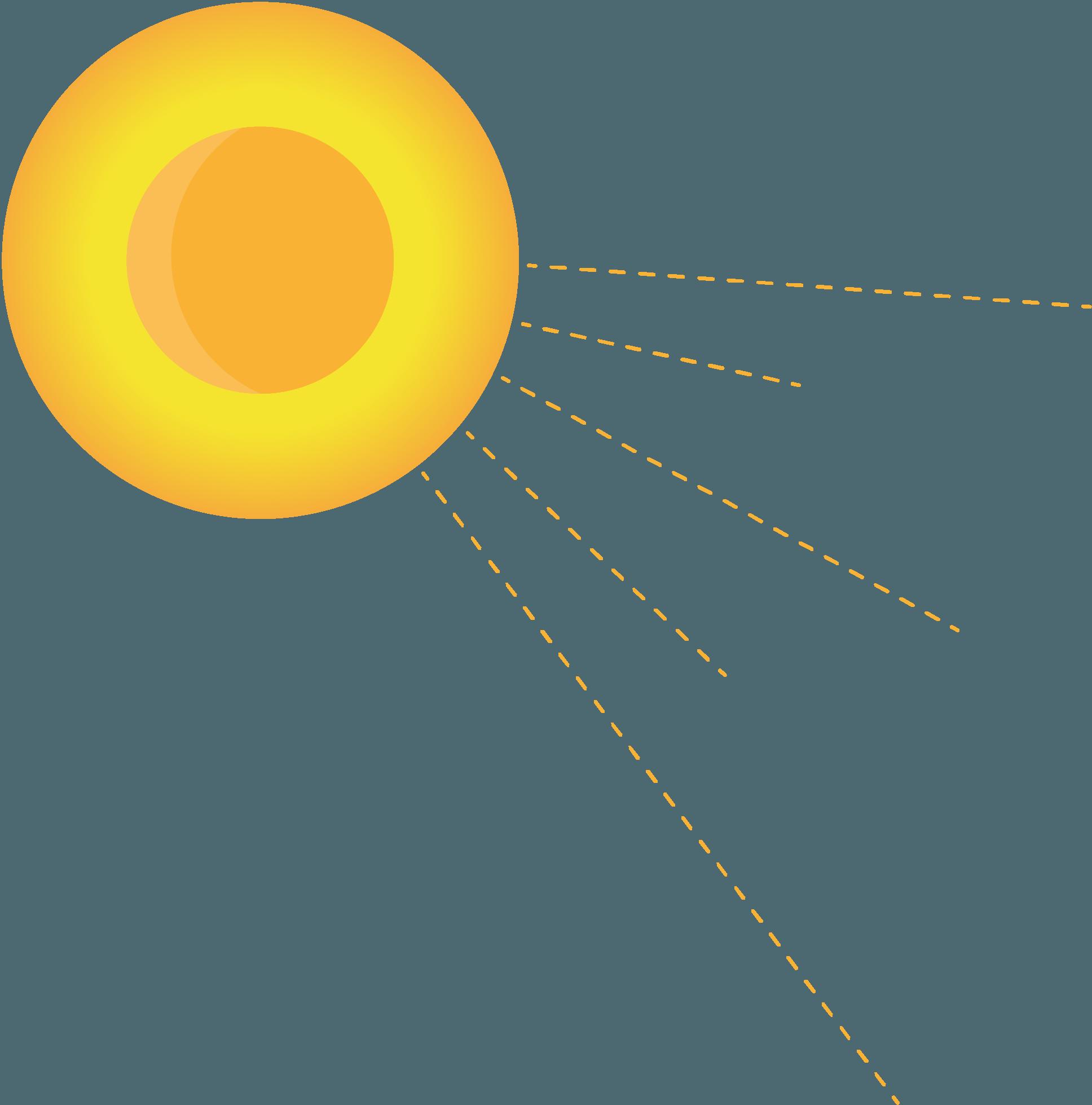 Sun graphic