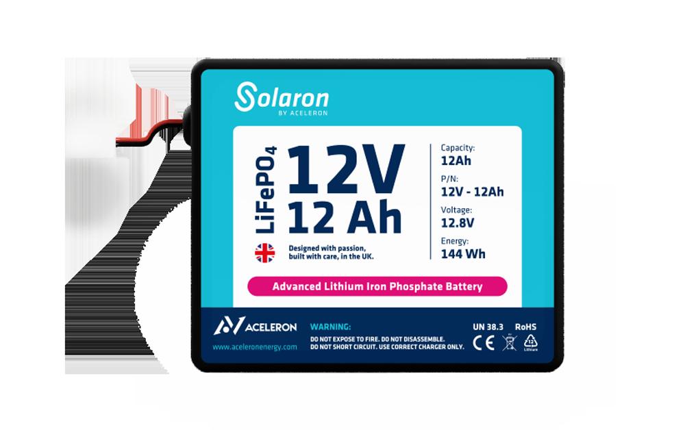 12V 12Ah Solaron battery by Aceleron