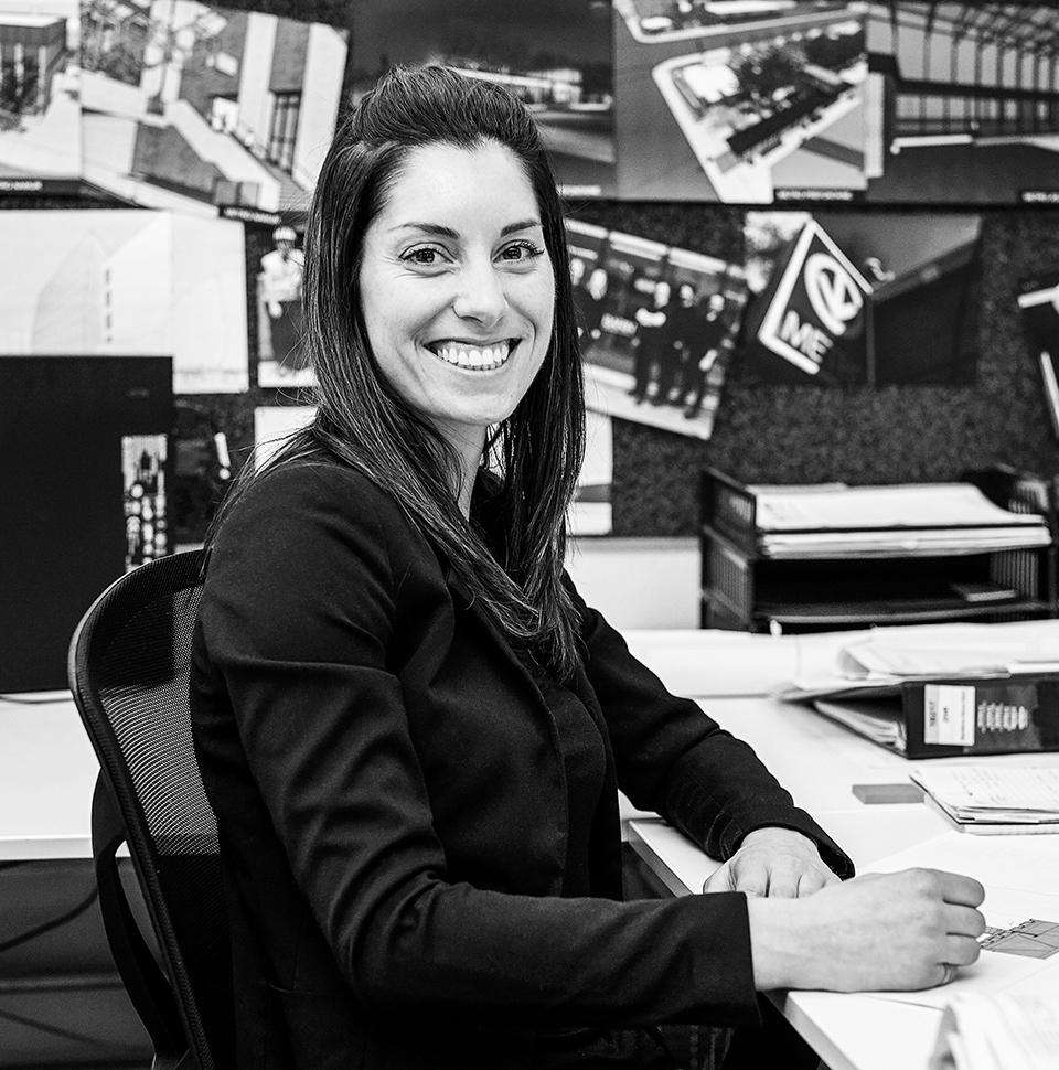 Team member Sandra Poissant