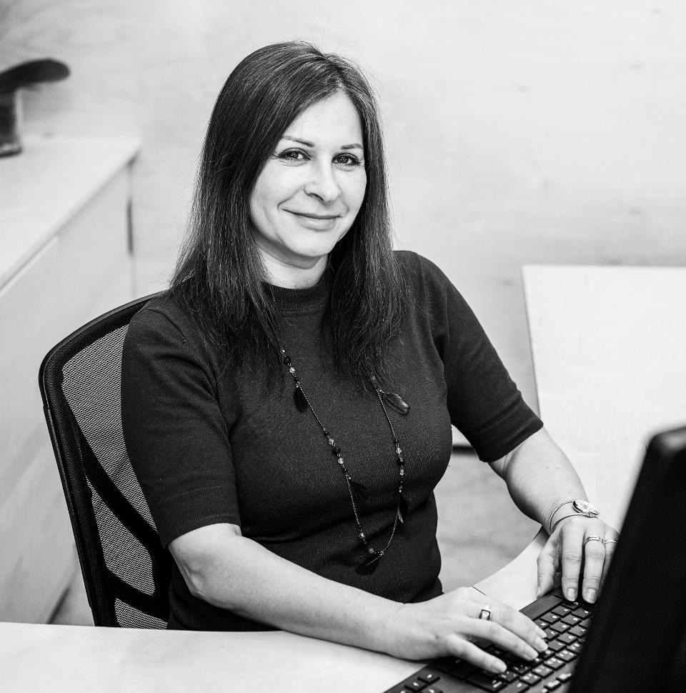 Team member Christina Tessier
