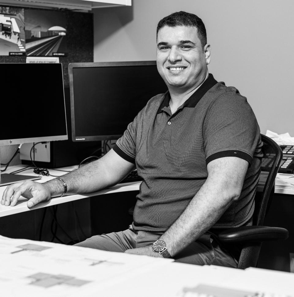 Team member Zoheir Guechi