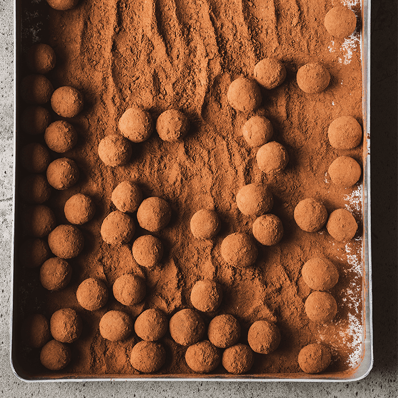 Schokoladen-Kaffee-Trüffel