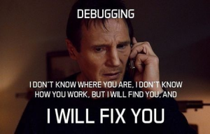 Debugging other people's code