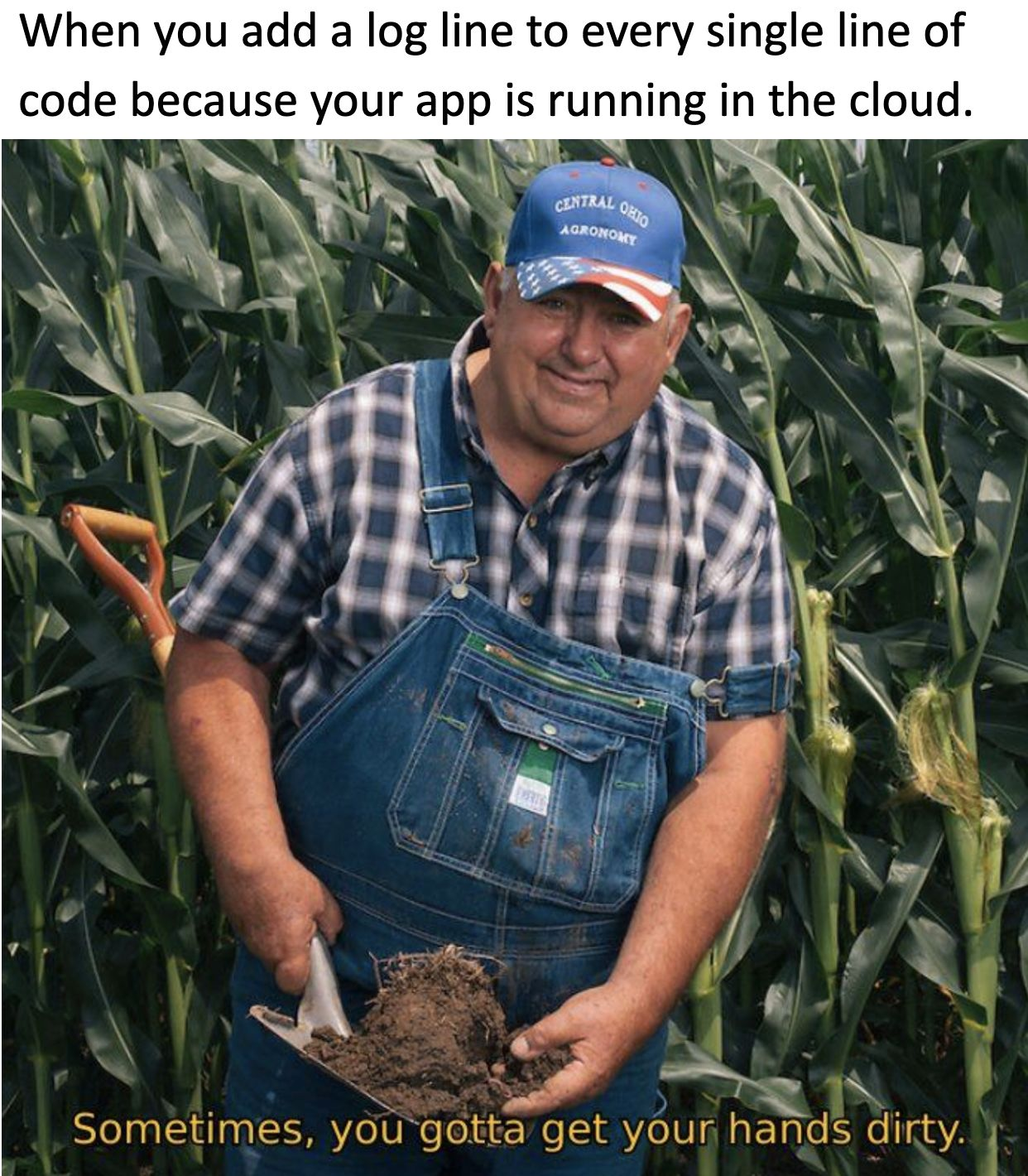 add a log line to every single of code