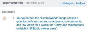 tumbleweed badge