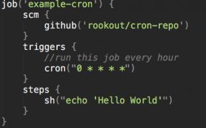 Use as a cron server