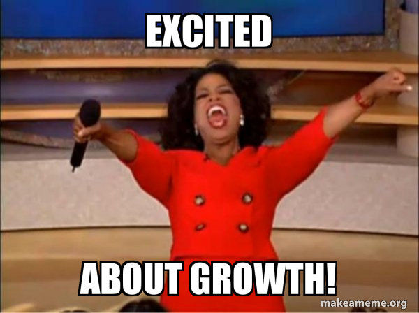 "Excited About Growth! - Oprah Winfrey ""You Get a Car"" 