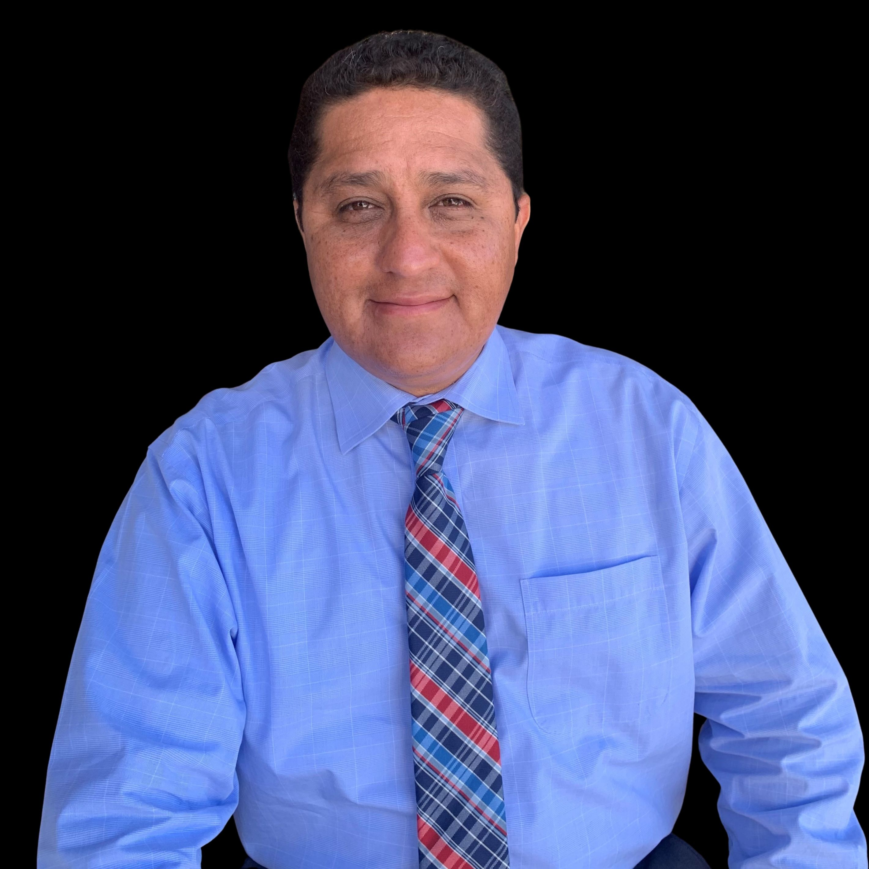 Senior interim pastor, Mario Perez
