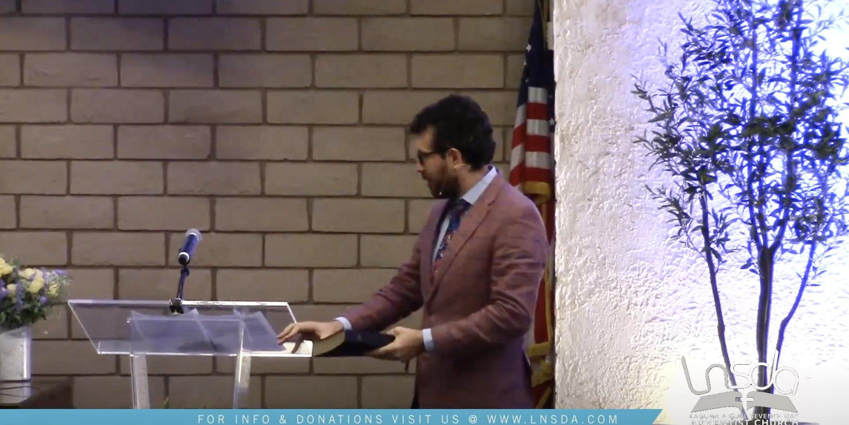 Pastor Mario Sermon Picture