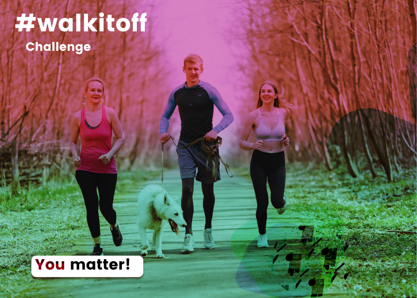 The #walkitoff challenge by Hustle and PUML