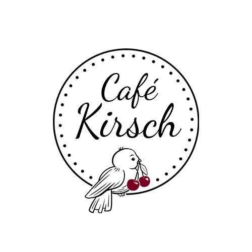 Logodesign Angermünde Uckermark - Café Kirsch Nürnberg
