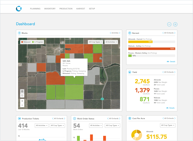Conservis Dashboard UI